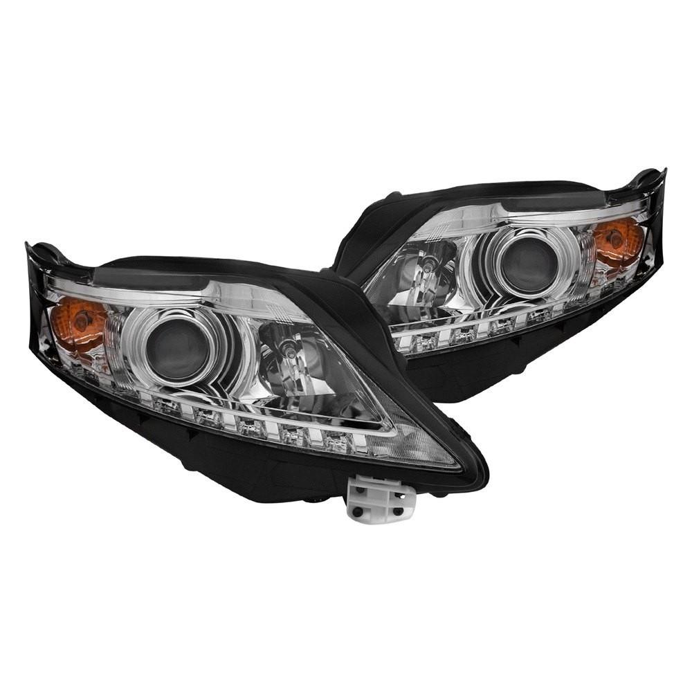 Anzo Led Headlights Chrome Projector 111323