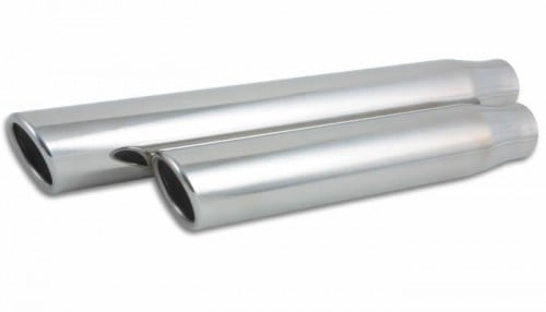 Vibrant Round Stainless Steel Truck/SUV Exhaust Tip