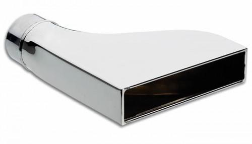 Vibrant Rectangular Stainless Steel Exhaust Tip