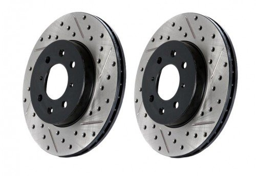 StopTech Drilled & Slotted Sportstop Rotor