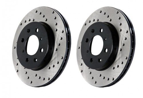 StopTech Drilled Sportstop Rotor