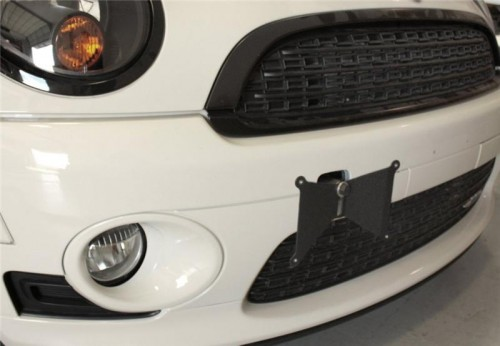 Alta Performance Front License Plate Holder