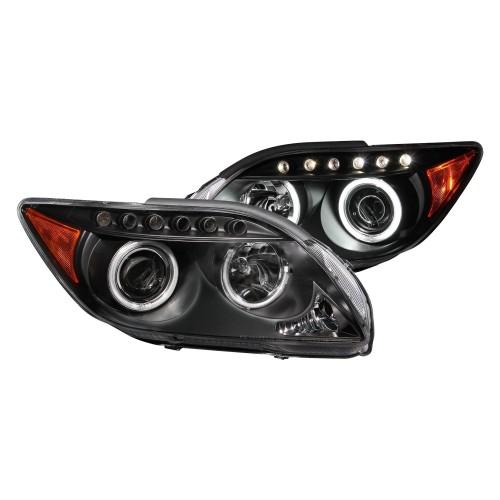 Anzo Led Headlights Black Ccfl Halo Projector 121119