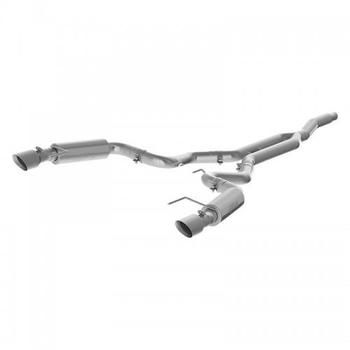MBRP Installer Series Race Version Cat-Back Exhaust System - S7275AL