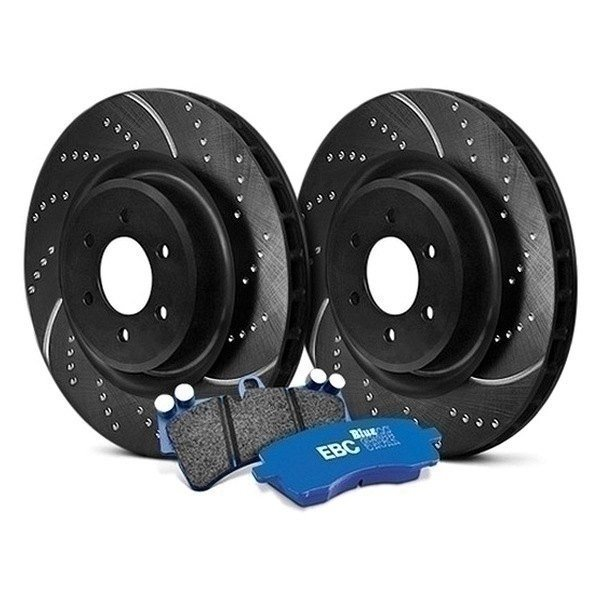 EBC Stage 6 Track Day Dimpled And Slotted Brake Kit