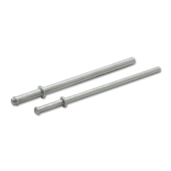 vibrant stainless steel exhaust hanger rods