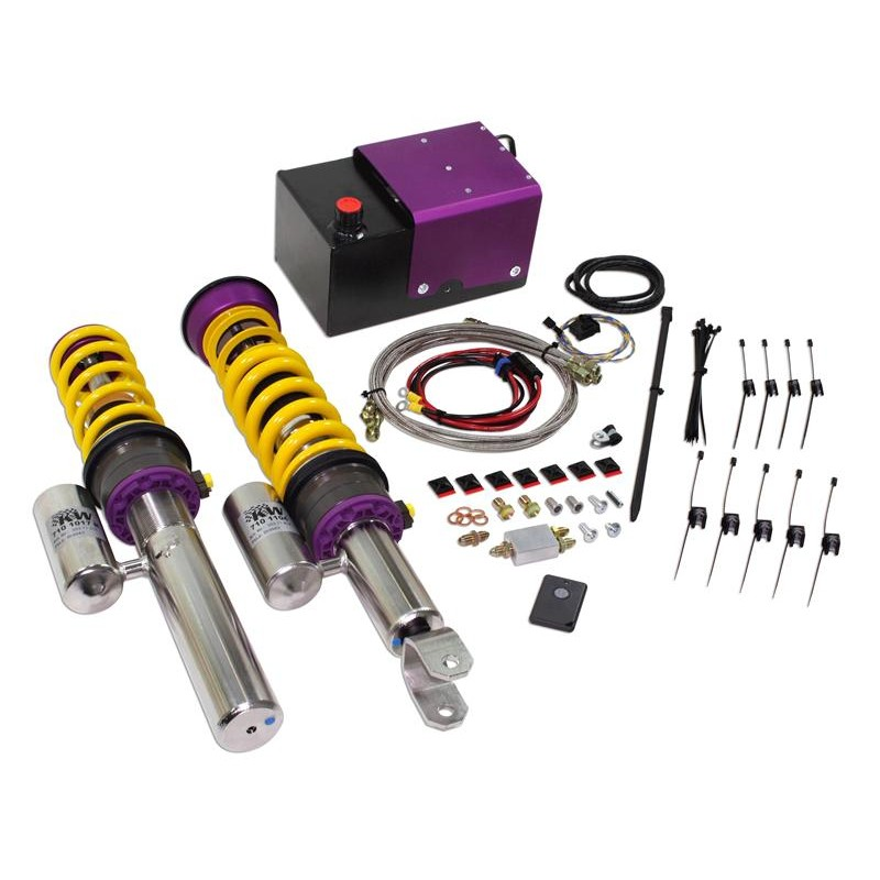 Variant 3 V3 Hls2 Front Lift Coilovers: KW Suspension HLS 4 Coilover Kit