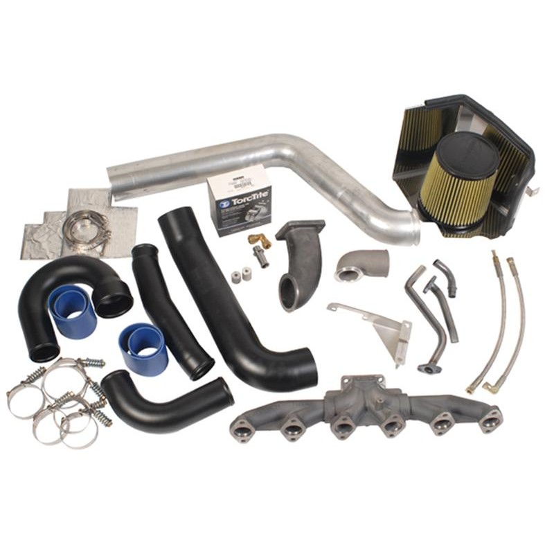 BD Diesel Twin Turbo R700 Piping & Plumbing Kit