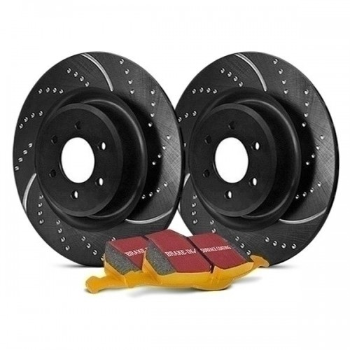 EBC Stage 5 Super Street Dimpled And Slotted Brake Kit