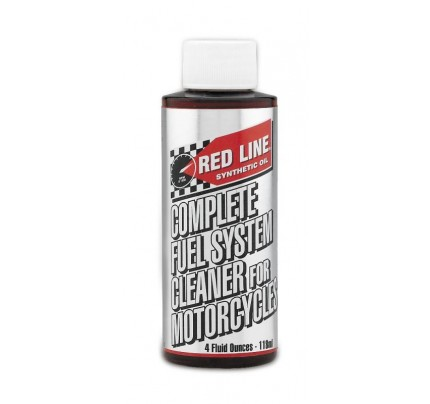 Red Line Oils Complete Fuel System Cleaner for Motorcycles