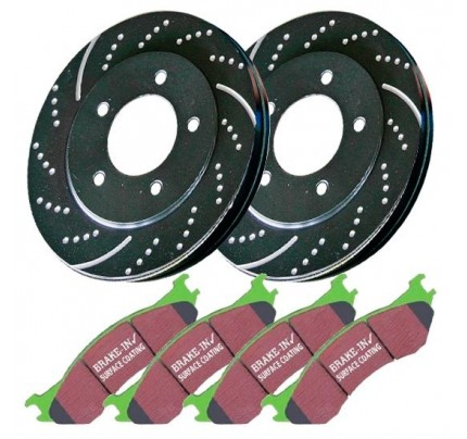 EBC Brakes Brake Kit - Stage 3 Truck/SUV