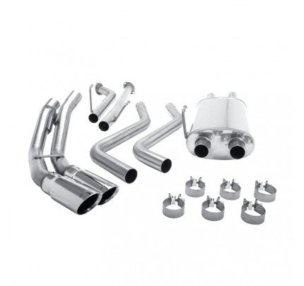 MagnaFlow Cat-Back MF Series Exhaust System - 16782