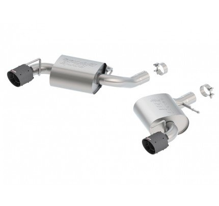 Borla S-Type Axle-Back Exhaust System - 11922CFBA