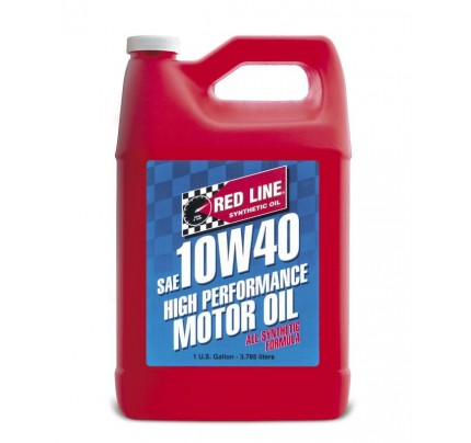 Red Line Oils 10W40 Motor Oil