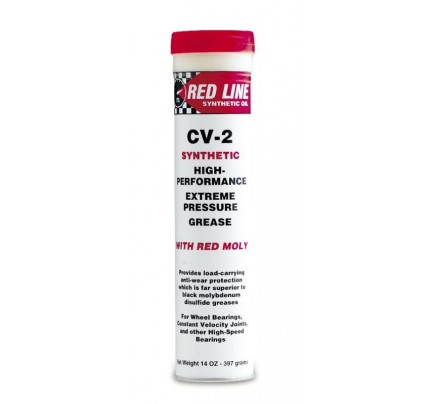 Red Line Oils CV-2 Grease with Moly