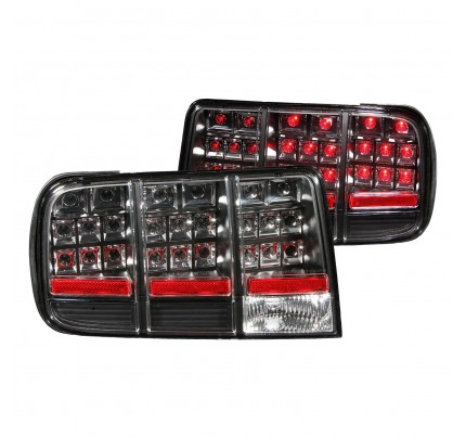 Anzo Tail Lights - Black LED - 321020