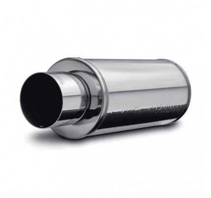 MagnaFlow Universal Polished Stainless STREET SERIES Muffler with Tip