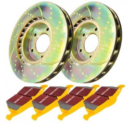 EBC Brakes Brake Kit - Stage 5 Super Street