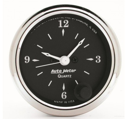 Auto Meter Old Tyme Black Series