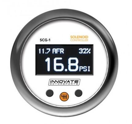 Innovate Motorsports SCG-1 Solenoid Boost Controller Gauge
