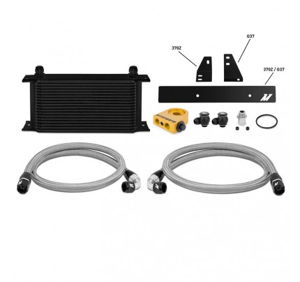 Mishimoto Oil Cooler Kit - MMOC-370Z-09TBK