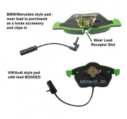 EBC Brakes Brake Wear Lead Sensor Kit