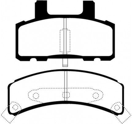 EBC Brakes Brake Pads - Greenstuff 7000 Series