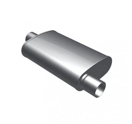 MagnaFlow Universal Satin Stainless 3-Chamber Muffler