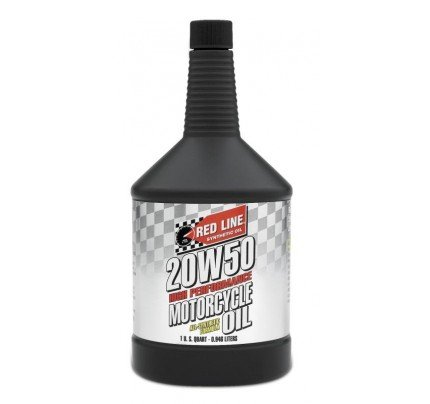 Red Line Oils 20W50 Motorcycle Oil