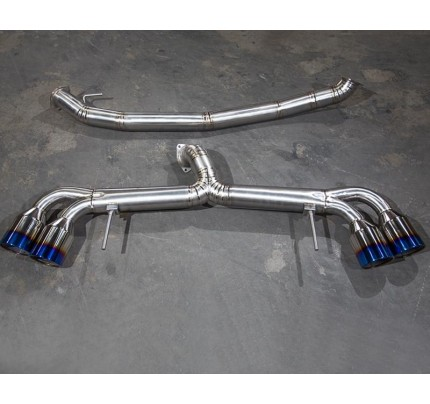 Agency Power Titanium Exhaust System