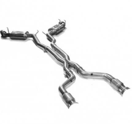Kooks 22505201 Catted Stainless Steel Cat-Back Exhaust System
