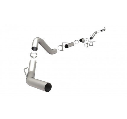 MagnaFlow Downpipe-Back Custom Builder Series Exhaust System - 18980